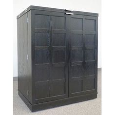 Marin Natural Large Bar/Media Cabinet | Media cabinet, Crates and Bar