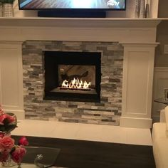 New Pics Fireplace Remodel videos Suggestions – Rebel Without Applause Fireplace Update, Paint Fireplace, Brick Fireplace Makeover, Old Fireplace, Farmhouse Fireplace, Fireplace Inserts, Living Room With Fireplace, Fireplace Ideas, Ideas For Fireplaces