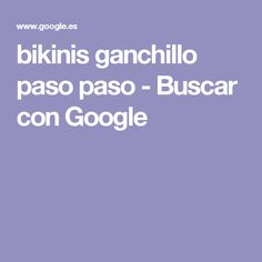 bikinis ganchillo paso paso - Buscar con Google Polaroid, Bikinis, Google, Nail Art, Celebrities, Manga, Wool Hats, Fashion Blouses, Caps Hats