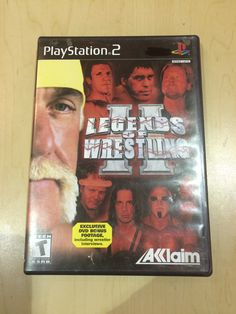 Legends of Wrestling II builds upon its predecessor by featuring over 65 professional wrestlers from yesteryear along with their signature moves and taunts. New to this version is the ability to play as Andre the Giant, Rowdy Roddy Piper, Sid Vicious, Bruno Sammartino, and more. Match types include six- and eight-man Elimination Bouts as well as Cage, Battle Royal, Ladder, Table, and three- and four-way Dances. Tag Team Tournaments feature such greats as the Road Warriors, Steiner Brothers…