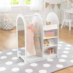 KidKraft Letu0027s Play Dress Up Unit   12511   Toy Storage At Hayneedle