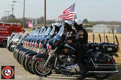 Ft. Worth motorcade for Dallas Firefighter William Scott Tanksley...rest In Peace, friend.