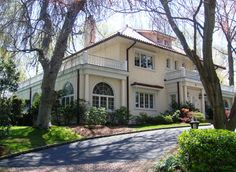 The actual Gatsby home of F. Scott and Zelda Fitzgerald in Great Neck, Long Island, New York