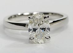 This enduring engagement ring setting is crafted in platinum with a low dome design for a comfortable fit.