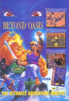 Beyond Oasis Sega Genesis