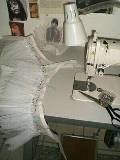 Nutcracker Costumes, Tutu Costumes, Ballet Costumes, Kids Tutu, Baby Tutu, Sewing Hacks, Sewing Projects, Dance Crafts, How To Make Tutu