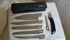 $60.95 Kershaw Blade Trader 6 Interchangeable Blades 1099TF Case Camping/Kitchen Knife #Kershaw