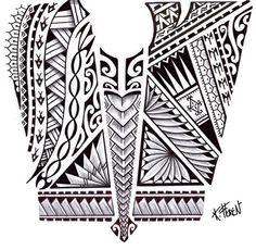 Tatto Ideas & Trends 2017 - DISCOVER Dessin de Tatouage Maori aux Bandes de Symboles Discovred by : lp sillac
