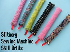 Kids + Sewing: Sewing Machine Skill Drills for Kids Video Tutorial + Pattern (Sew Mama Sew) Beginner Sewing Patterns, Sewing Basics, Sewing For Beginners, Sewing Hacks, Sewing Tutorials, Sewing Tips, Sewing Ideas, Sewing School, Sewing Class