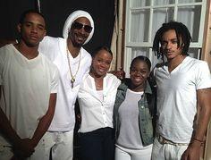 Snoop Dogg Wife and Kids
