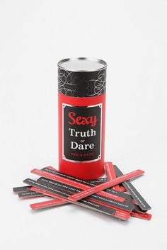 Play a naughty game of sexy truth or dare ($13, originally $15) to stay warm this Winter.