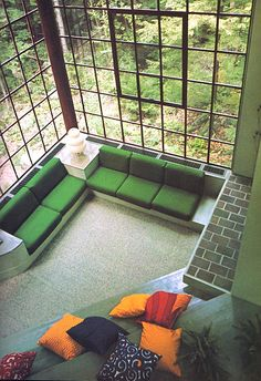 Peter Bohlin House, Cornwall Conneticuit 1976 | Jeremy Jae | Flickr Space Furniture, Outdoor Furniture, Outdoor Decor, Cosy Christmas, Vintage Interior Design, Futuristic Design, Cornwall, Interior Decorating, Home And Garden