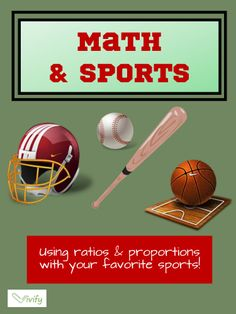 Connect Math with Sports in your classroom! Each activity will get students out of their seats and playing paper football, running a relay race, or measuring their heart rate! Each activity also includes a STEM (Science, Technology, Engineering, Math) career connection that will help students see why math is useful in real life.
