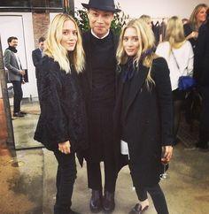 Instagram Photos Mary-Kate Ashley Olsen Twins via @WhoWhatWear