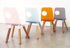 Full moon chair, Justin Lamont / want Kids Furniture, Furniture Decor, Furniture Design, Clever Kids, Contemporary Chairs, Kids Decor, Home Decor, Decor Ideas, Eclectic Design