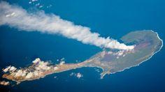 Una nueva isla aparece en el Pacífico