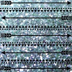 Aztec Glitter Background