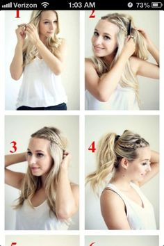 Easy braid soo adorable