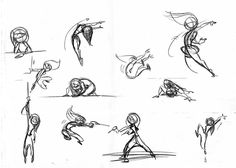 Kim Possible Poses model sheet