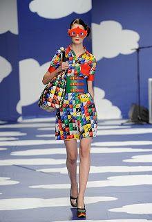 Strawberry Anarchy: Lego Fashion by Jean-Charles de Castelbajac