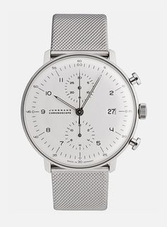 Junghans / Max Bill Chronoscope / Ref. Nr. 027/4003.44 / Watch / #viaGlamour