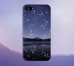 Astronomy Star Gazing x Mountain Lake Phone Case for iPhone and Samsung