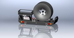DIY Rear Bumper with plans so you can build it yourself.