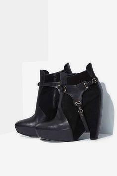 Vintage Balenciaga Harness Boots