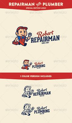 vintage logo character - Google Search