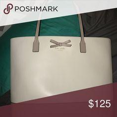 White Kate Spade Purse White Kate Spade purse kate spade Bags