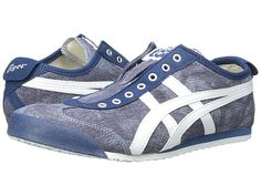 Onitsuka Tiger by Asics Mexico 66® Slip-On Poseidon/White - Zappos.com Free Shipping BOTH Ways
