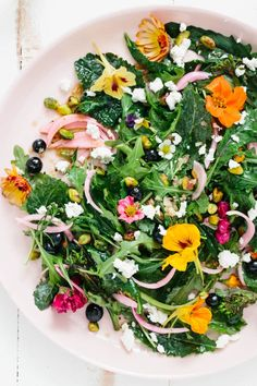 Recipe: The Ultimate Spring Party Salad — Salad Recipes (Kitchn Asparagus Salad, Feta Salad, Salad Bowls, Fancy Salads, Dinner Salads, Paleo, Cooking Recipes, Healthy Recipes, Healthy Meals