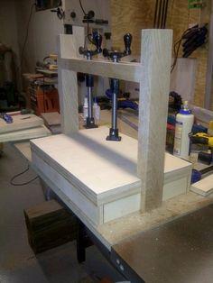 Quick build Veneer press...