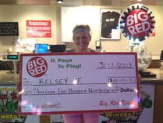 Kelsey Won $10,491 Playing Big Red Keno in Lincoln!