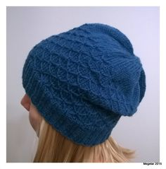Megetar: Pipo tilkkutyösilmukalla + ohje Knitted Hats, Knit Crochet, Winter Hats, Knitting, Crafts, Beanies, Crocheting, Fashion, Crochet