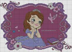 Sophia the first cross stitch 3-4