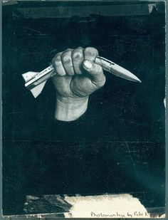 Crushed Missile (1980) by Peter Kennard