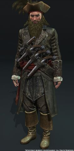Character Art : Assassin's Creed IV Black Flag - Polycount Forum