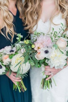 Bouquet inspiration from #PronoviasBrides ♥ {Laura Kelly Photography}