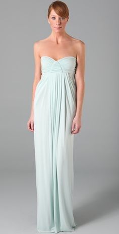 Rachel Pally Maxi - Baby blue for my baby shower.
