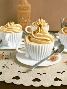 Espresso Caramel Cupcakes