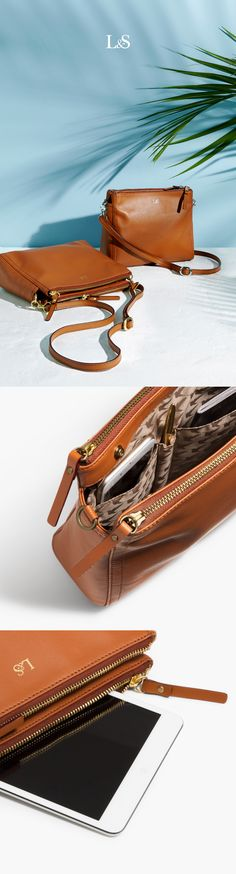 93131d6d2b Women s Leather Crossbody Bag - The Pearl - Lo   Sons