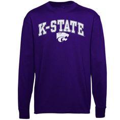 Kansas State Wildcats Youth Midsize Long Sleeve T-Shirt – Purple - $15.99