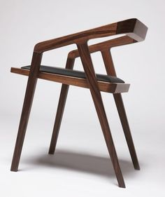 innovative but restrained - carved out seat takes into account the human being that will sit in it.