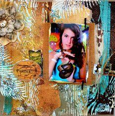Bellaideascrapology: SERENGETI and my new DT! 7 gypsies