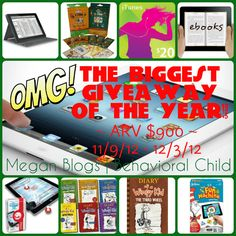 The Biggest Giveaway of the Year!!  $900 worth of goodies...including an iPad!  WOW!