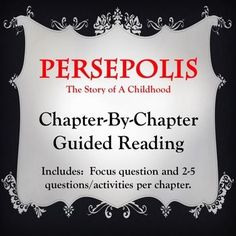 ian accent satrapi was born in rasht and grew up in tehran persepolis reading guide