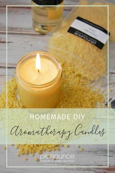 DIY Aromatherapy Candles • pronounceskincare.com