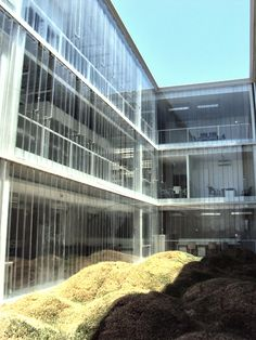 Edificio con U-glass transparente Cartographic 2010  #Architecture #vidrio #glass #vidro #puertas #doors #portas #UGlass