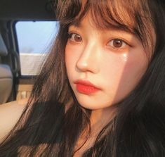 Image shared by 노을 ☾. Find images and videos about girl, aesthetic and makeup on We Heart It - the app to get lost in what you love. Korean Makeup, Korean Beauty, Asian Beauty, Korean Aesthetic, Aesthetic Girl, Pretty Asian, Beautiful Asian Girls, Girl Korea, Ulzzang Korean Girl